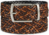 Tasso Elba Men's Reversible Braid Belt, Only at Macy's