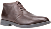 Geox Brandled Leather Desert Boots