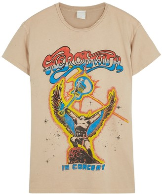 MadeWorn Aerosmith In Concert Cotton T-shirt