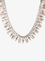Torrid Spike & Crystal Necklace