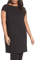 Eileen Fisher Plus Size Women's Jersey Tunic Dress