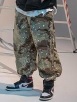 Massnoun Cargo Pocket Balloon Jogger Pants Camo -Camouflage