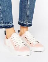 Love Moschino Heart Print Sneakers
