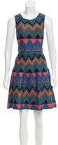 Issa Knit A-line Mini Dress
