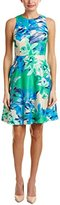 Donna Morgan Women's Sleeveless Fit and Flare Dress