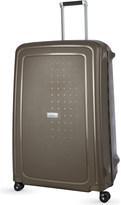 Samsonite S'cure DLX four-wheel spinner suitcase 81cm