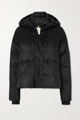 Erin Snow Lolita Hooded Quilted Ripstop Ski Jacket - Black