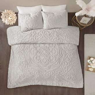 Nobrand No Brand 3pc Cecily Cotton Medallion Duvet Cover Set