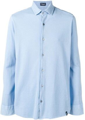 Drumohr Long-Sleeve Fitted Shirt