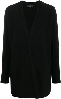 Theory open front cashmere cardigan