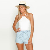 City Beach Mooloola Paper Doll Halter Top