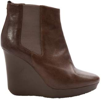 Jimmy Choo \N Brown Leather Ankle boots