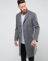 Nudie Jeans Waldo Recycled Wool Overcoat