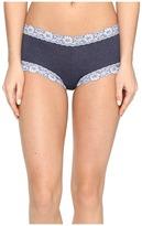 Hanky Panky Heather Jersey Boyshorts Women's Underwear