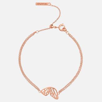 Olivia Burton Women's Butterfly Wing Chain Bracelet