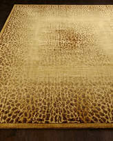 """Horchow Leopard Shadow Rug, 3'6"""" x 5'6"""""""