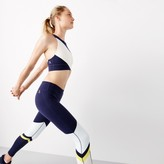 J.Crew New Balance® for performance crop top in striped colorblock