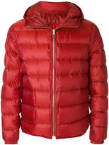 Ten C Ten-C hooded quilted jacket