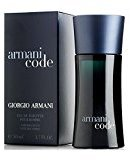 Giorgio Armani Code By For Men. Eau De Toilette Spray 1.7 Ounces