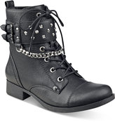 G by Guess Braxton Moto Ankle Booties