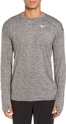 Nike Element Dry Long Sleeve Running T-Shirt