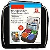 J L Childress Cooler Cube Food and Bottle Bag, Black