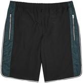 Tim Coppens Black Striped Shorts