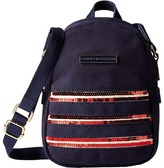 Tommy Hilfiger Canvas Flag Mini Backpack Crossbody