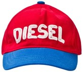 Diesel Red and Blue Branded Cap