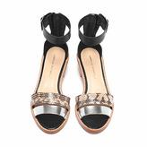 Loeffler Randall Henry stacked heel sandal