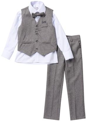 Isaac Mizrahi Textured Vest Set (Toddler & Little Boys)