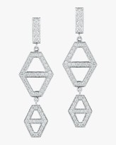 Walters Faith Keynes Diamond Hexagon Drop Earrings