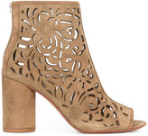 Ash Fever cut-out detail boots - women - Leather/Suede - 36