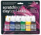 Ampersand Claybord Ink Set Of 6 Colors