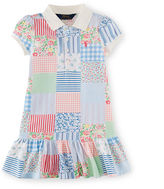 Ralph Lauren Patchwork Cotton Polo Dress