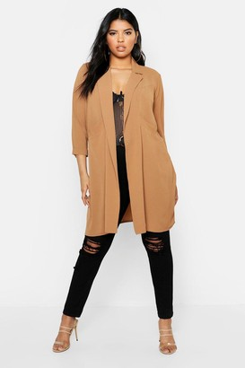 boohoo Plus Woven Pocket Duster