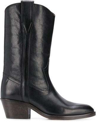 Isabel Marant Danta cone-heel boots