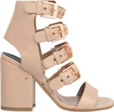 Laurence Dacade Kloe sandal with rose gold buckles