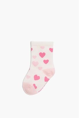 Country Road Multi Heart Sock