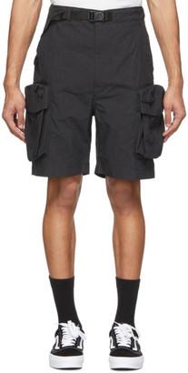 Snow Peak Black C/N Shorts