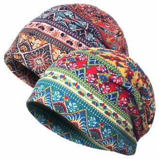 Jemis Skullies Beanies Thin Bonnet Cap Autumn Casual Beanies Hat - orange - One Size