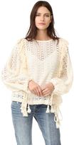 See by Chloe Crochet Lace Top