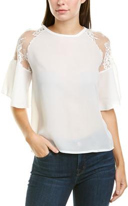 Dnt Lace Shoulder Top