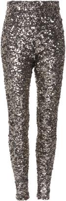 Balenciaga Sequined Jersey Leggings