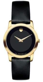 Movado Ladies Museum Classic Goldtone Watch