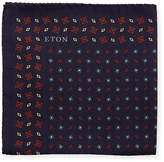 Eton Diamonds Silk Pocket Square