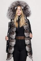 Nicole Benisti I Am Madison The Layered Fur Lined Parka