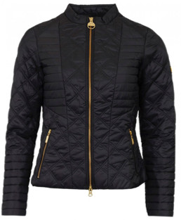 Barbour International - Freethrow Quilt Jacket Black - 12