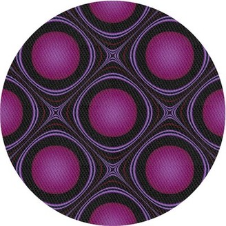 East Urban Home Patterned Pink Area Rug Rug Size: Rectangle 5' x 7'