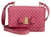 Salvatore Ferragamo Girl's Mini Vara Ginny Shoulder Bag - Pink